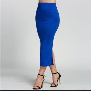 Dresses & Skirts - Blue shirt